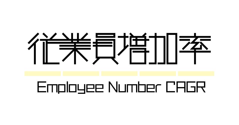 財務指標 | 従業員増加率