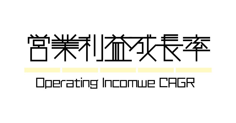 財務指標 | 営業利益CAGR