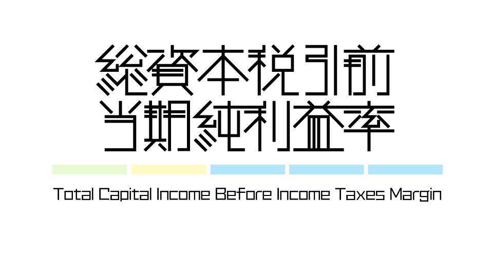 財務指標 | 総資本税引前当期純利益率